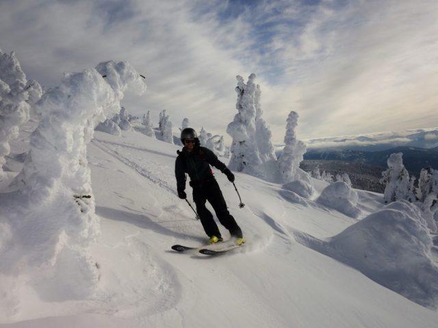 Brant Skiing