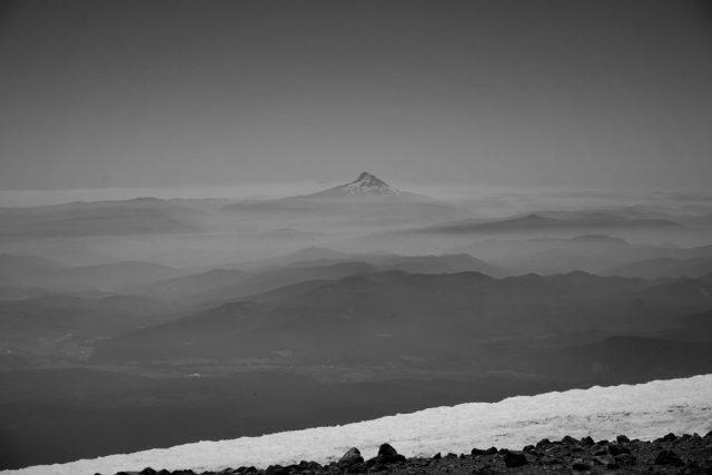 Hazy Mt. Hood