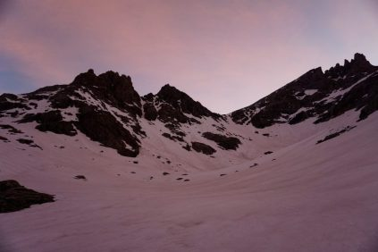 Bonney Pass Sunrise