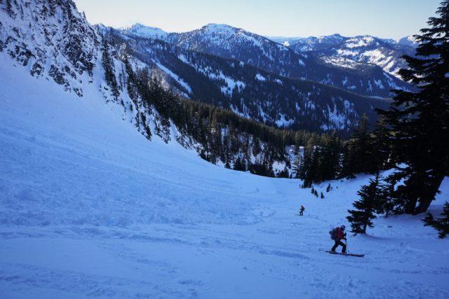 Hard Skiing