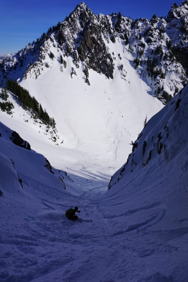 Kaleetan Couloir Ski