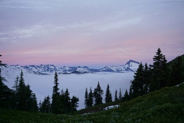 White Pass Pre-Dawn