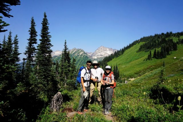 Buck Creek Pass Trio