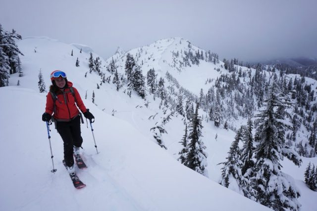 Skinning up the Ridgeline