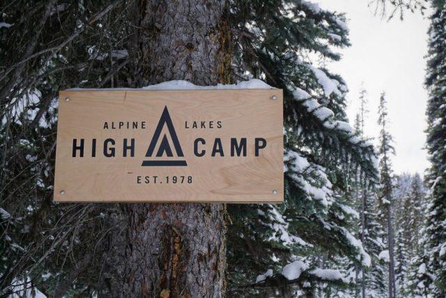 High Camp Sign