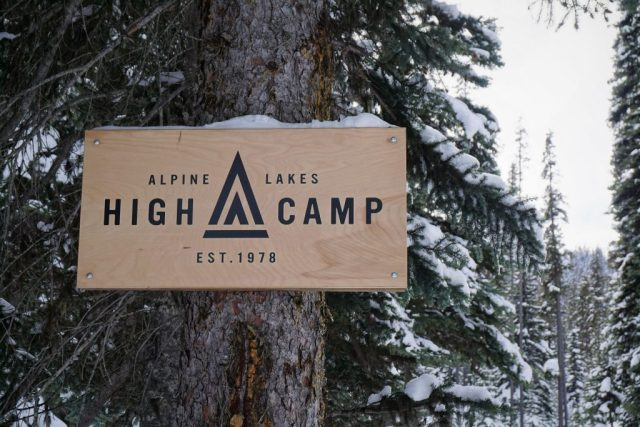 High Camp Sign