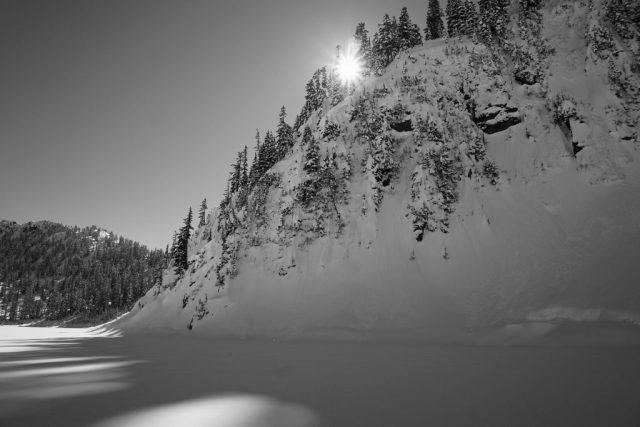 Snow Lake Sun