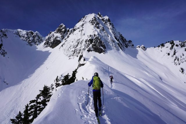Chair Peak Approach