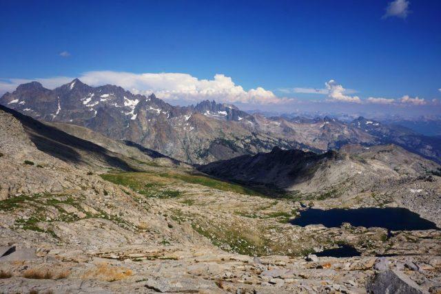 Blue Lakes Pass