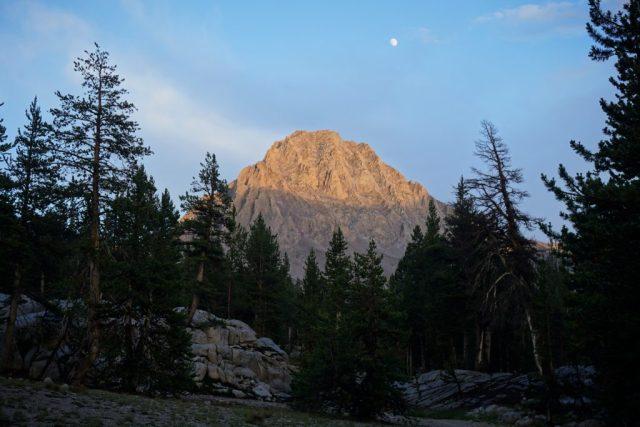 Center Peak Sunset