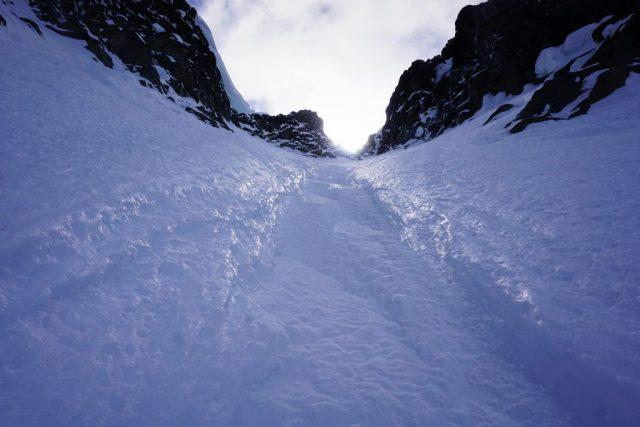 Ice Cliff Couloir
