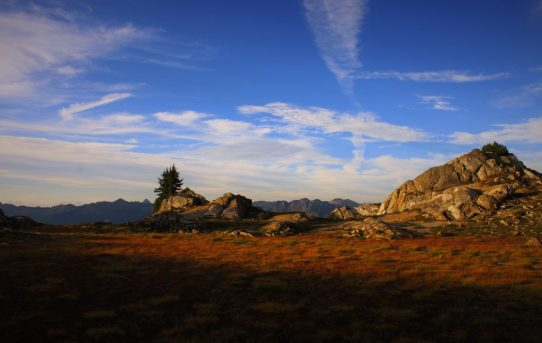 Lost Ridge Backpacking