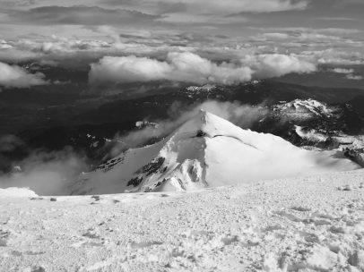 Grant Peak, the subsummit of Baker.