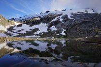 Wonderful reflection in Butterfly Lake.