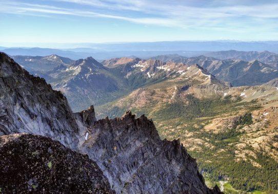 Mt. Stuart, West Ridge (5.6)