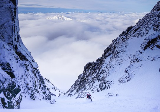Big Chiwaukum, NW Couloir