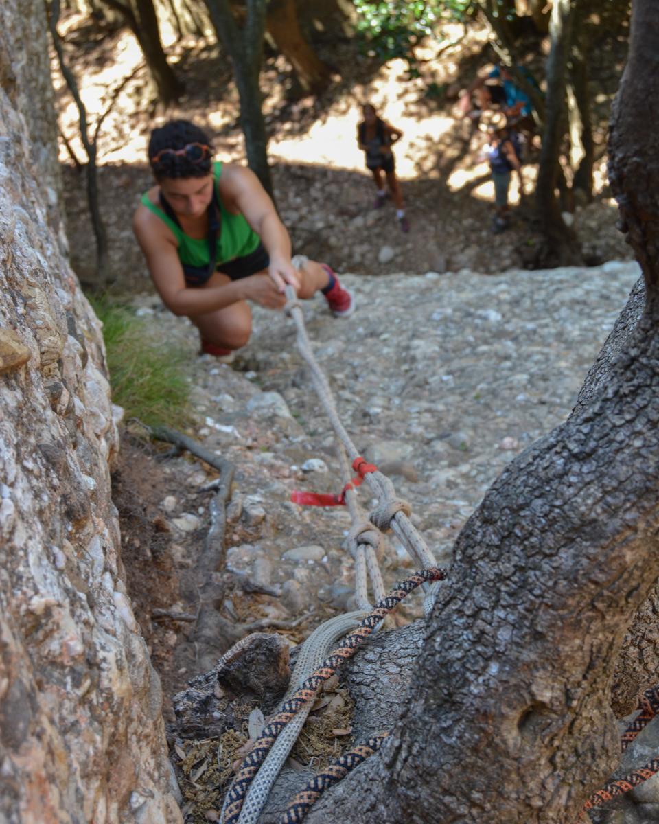 Travessa Agulles i Frares Encantats, Montserrat 8