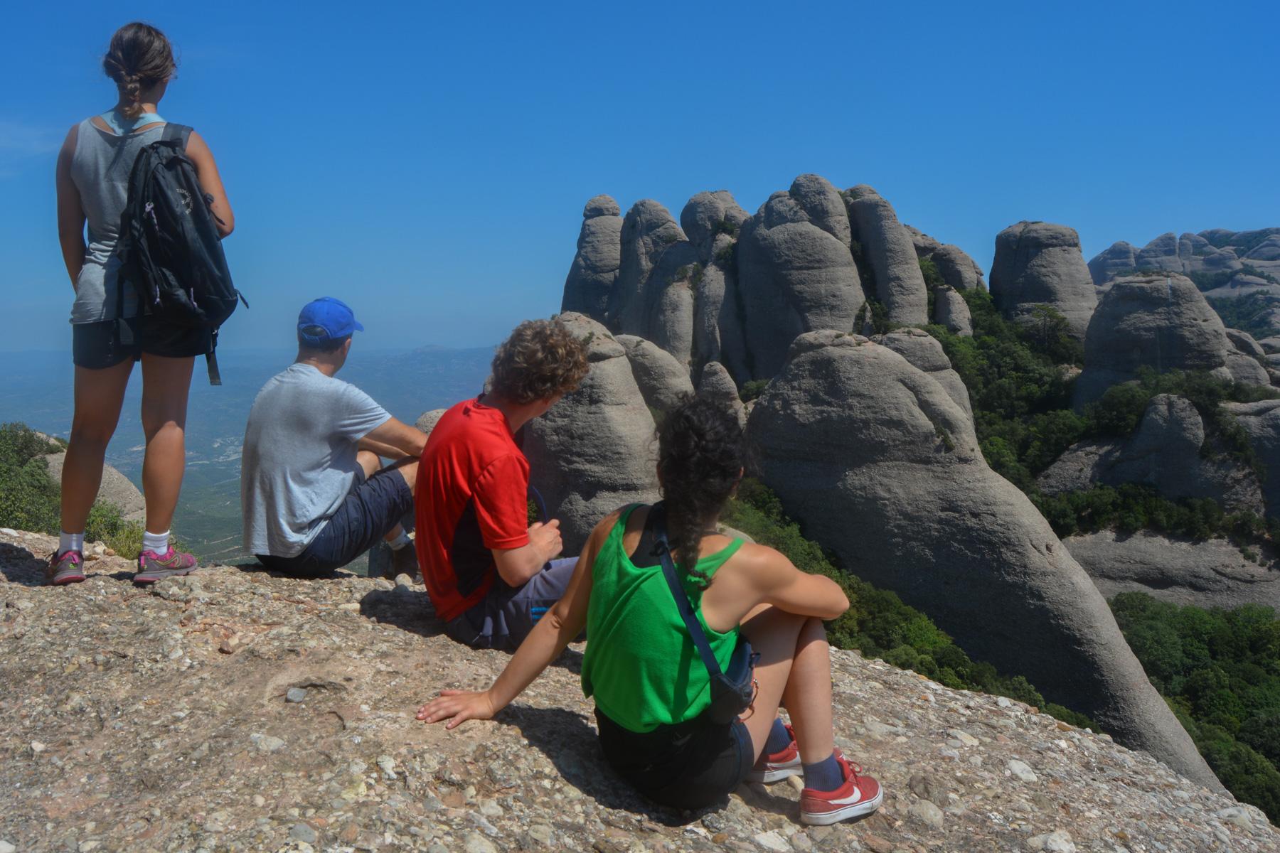 Travessa Agulles i Frares Encantats, Montserrat 1