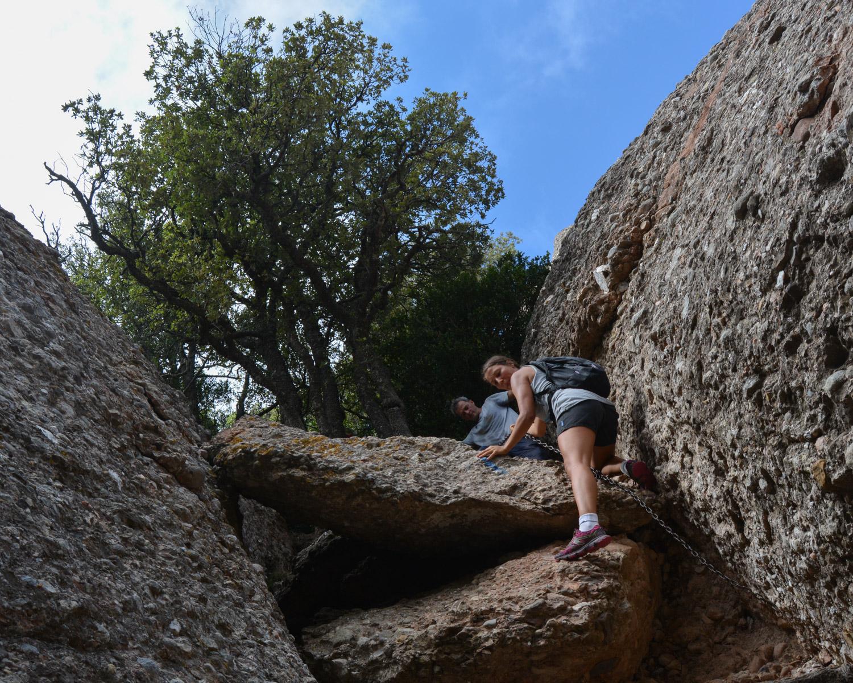 Travessa Agulles i Frares Encantats, Montserrat 33