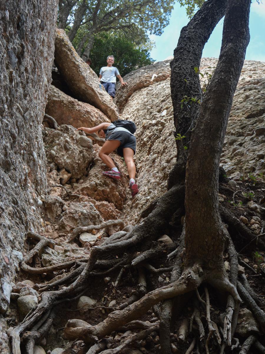 Travessa Agulles i Frares Encantats, Montserrat 34