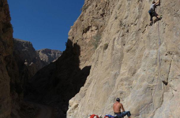 Dibba Climbing, Wadi Khab El Shamis, Musandam, Oman 2