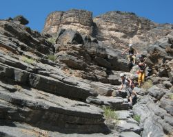Snake canyon, Jebel Akhdar 48