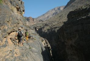 Snake canyon, Jebel Akhdar 74