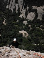 Via Cervera-Raül a la Talaïa Gran, Montserrat, Espagne 5