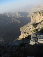 Qarn al Ghamaydah, Jebel Shams, trek W4, Oman 7