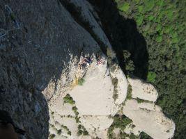 Punsola-Reniu al Cavall Bernat, Montserrat 21
