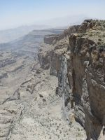 Qarn al Ghamaydah, Jebel Shams, trek W4, Oman 16