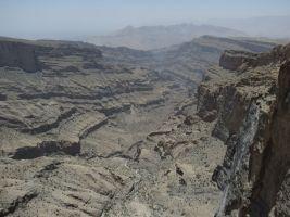 Qarn al Ghamaydah, Jebel Shams, trek W4, Oman 17