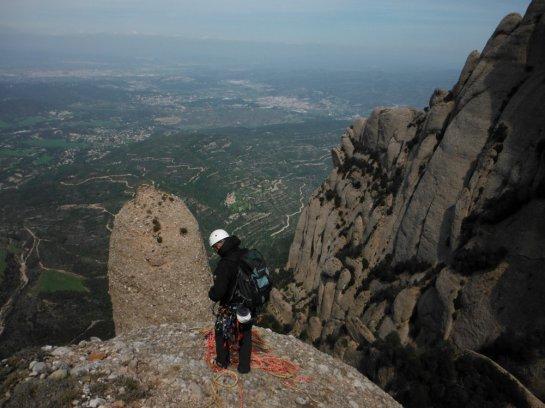 en haut de la Talaïa