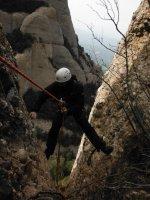 Via Cervera-Raül a la Talaïa Gran, Montserrat, Espagne 18
