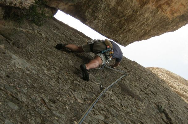 Serrat d'En Muntaner Cara Este, Montserrat, Espagne 2