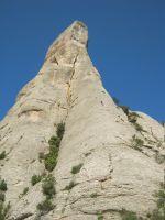 Punsola-Reniu al Cavall Bernat, Montserrat 14