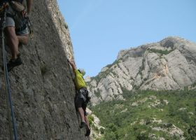 Serrat d'En Muntaner Cara Este, Montserrat, Espagne 7