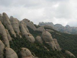 Montpart a la Miranda de las Boïgues, Montserrat, Espagne 11