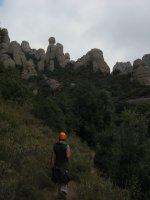 Montpart a la Miranda de las Boïgues, Montserrat, Espagne 3