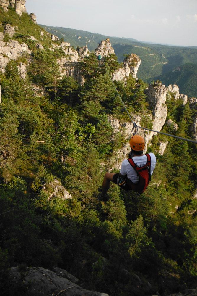 Ferrata de Liaucous, Aveyron 29