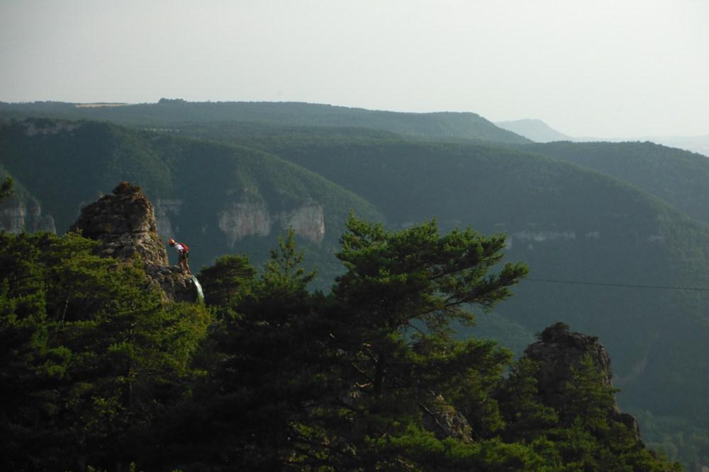 Ferrata de Liaucous, Aveyron 30