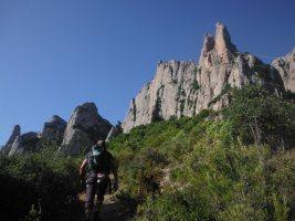 Easy Rider a la Paret de l'Aeri, Montserrat, Espagne 4