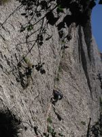 Easy Rider a la Paret de l'Aeri, Montserrat, Espagne 5
