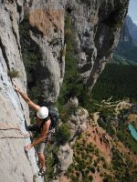 Via Africa a la Paret del Grau, Coll de Nargo, Espagne 9