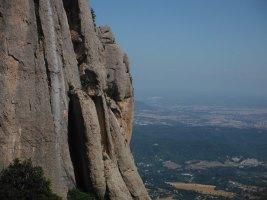 Easy Rider a la Paret de l'Aeri, Montserrat, Espagne 6