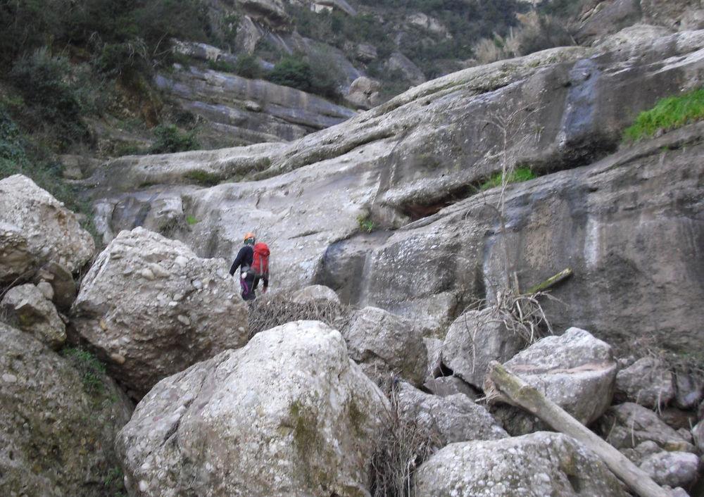Torrent de Vallmala, Montserrat 13