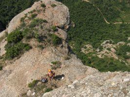 Lapónia a la Portera Gran, Montserrat, Espagne 17