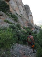 Lapónia a la Portera Gran, Montserrat, Espagne 5