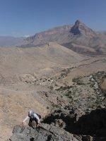 Balade d'Al Gowail, Jebel Kawr, Ibri, Oman 14