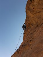 Orange Sunshine, Burdah Rock, Wadi Rum, Jordanie 18